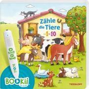 Cover-Bild zu BOOKii® Zähle die Tiere von 1 bis 10 von Görtler, Carolin (Illustr.)