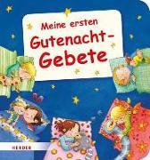 Cover-Bild zu Meine ersten Gutenachtgebete von Görtler, Carolin (Illustr.)