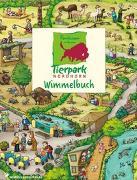 Cover-Bild zu Tierpark Nordhorn Wimmelbuch von Görtler, Carolin (Illustr.)