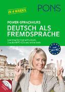 Cover-Bild zu PONS Power-Sprachkurs Deutsch als Fremdsprache