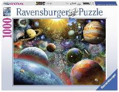 Cover-Bild zu Ravensburger (Hrsg.): Planeten. Puzzle 1000 Teile