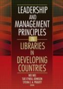 Cover-Bild zu Leadership and Management Principles in Libraries in Developing Countries (eBook) von Wei, Wei
