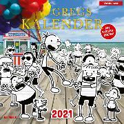 Cover-Bild zu Gregs Kalender 2021 von Kinney, Jeff