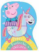 Cover-Bild zu Peppa Pig: Peppa's Fantastic Unicorn Shaped Board Book von Peppa Pig