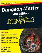 Cover-Bild zu Dungeon Master For Dummies (eBook) von Slavicsek, Bill