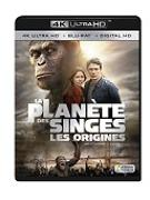 Cover-Bild zu La Planète des Singes : Les origines - 4K +2D von Rupert Wyatt (Reg.)