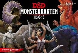 Cover-Bild zu D&D: Monster Deck 6-16 (Deutsch) von Mearls, Mike