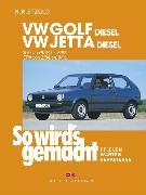Cover-Bild zu VW Golf II Diesel 9/83-6/92, Jetta Diesel 2/84-9/91 (eBook) von Etzold, Rüdiger