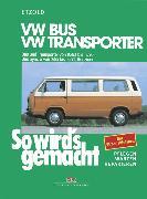 Cover-Bild zu VW Bus und Transporter von 10/82 bis 12/90 (eBook) von Etzold, Rüdiger