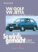 Cover-Bild zu VW GOLF II von 9/83 bis 6/92, VW JETTA II von 2/84 bis 9/91 (eBook) von Etzold, Rüdiger