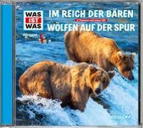 Cover-Bild zu WAS IST WAS Hörspiel: Im Reich der Bären/ Wölfen auf der Spur von Falk, Matthias