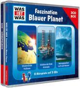 Cover-Bild zu WAS IST WAS 3-CD Hörspielbox. Faszination Blauer Planet von Tessloff Verlag Ragnar Tessloff GmbH & Co.KG (Hrsg.)