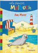 Cover-Bild zu Mein schönstes Malbuch Am Meer von Beurenmeister, Corina (Illustr.)