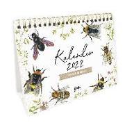 Cover-Bild zu Tischkalender 2022 - Wilde Bienen von Leffler, Silke