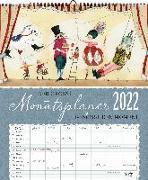Cover-Bild zu Auf Reisen Großer Monatsplaner 2022 von Leffler, Silke
