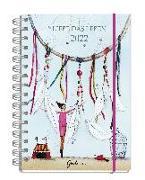 Cover-Bild zu Liebe das Leben - Taschenkalender 2022 von Leffler, Silke (Illustr.)