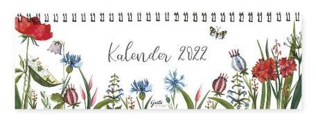 Cover-Bild zu Tischkalender 2022 - Blumen von Leffler, Silke (Illustr.)