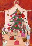 Cover-Bild zu Adventskalender Weihnachtsvorhang von Leffler, Silke