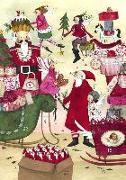 Cover-Bild zu Adventskalender Weihnachtstreiben von Leffler, Silke (Illustr.)
