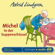 Cover-Bild zu Michel in der Suppenschüssel. CD von Lindgren, Astrid