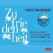 Cover-Bild zu Zufriedenheit (Audio Download) von Berndt, Christina