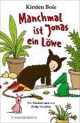 Cover-Bild zu Manchmal ist Jonas ein Löwe von Boie, Kirsten