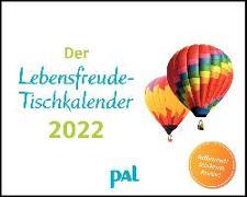 Cover-Bild zu Wolf, Merkle, Der PAL-Lebensfreude-Tischkalender 2022 von Wolf, Doris