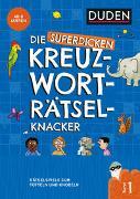 Cover-Bild zu Die superdicken Kreuzworträtselknacker - ab 7 Jahren (Band 1) von Eck, Janine