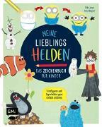 Cover-Bild zu Meine Lieblingshelden - Das Zeichenbuch für Kinder