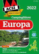 Cover-Bild zu ACSI Campingführer Europa 2022 von ACSI