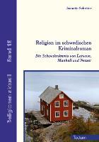 Cover-Bild zu Religion im schwedischen Kriminalroman von Schröter, Jeanette
