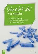 Cover-Bild zu Schreib-Kicks für Schüler von Sigg, Stephan