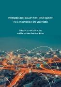 Cover-Bild zu International E-Government Development von Alcaide Muñoz, Laura (Hrsg.)