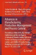 Cover-Bild zu Advances in Manufacturing, Production Management and Process Control (eBook) von Trzcielinski, Stefan (Hrsg.)