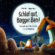 Cover-Bild zu Schlaf gut, Bagger Ben! von Horn, Dörte