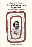 Cover-Bild zu Ein Abglanz meines Begehrens von Balzac, Honoré de