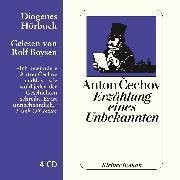 Cover-Bild zu Erzählung eines Unbekannten (Audio Download) von Cechov, Anton