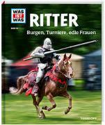 Cover-Bild zu WAS IST WAS Band 88 Ritter. Burgen, Turniere, edle Frauen von Schaller, Andrea