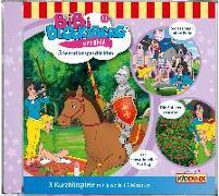 Cover-Bild zu Bibi Blocksberg erzählt 11. 3 Sensationsgeschichten von Bibi Blocksberg
