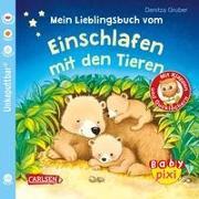 Cover-Bild zu Baby Pixi (unkaputtbar) 96: Mein Lieblingsbuch vom Einschlafen mit den Tieren von Gruber, Denitza