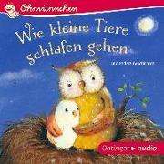 Cover-Bild zu Wie kleine Tiere schlafen gehen und andere Geschichten (CD) von Lütje, Susanne