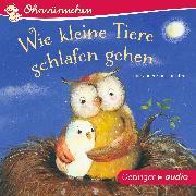 Cover-Bild zu Wie kleine Tiere schlafen gehen (Audio Download) von Maar, Paul