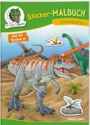 Sticker-Malbuch Dinosaurier von Walther, Max (Illustr.)