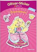 Glitzer-Sticker Malbuch. Prinzessinnen von Schmidt, Sandra (Illustr.)