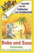 Cover-Bild zu Konstantin, das musikalische Krokodil /Bobo und Susu, als der Elefant sich in eine Maus verliebte von Wagener, Gerda