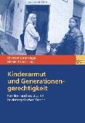 Cover-Bild zu Kinderarmut und Generationengerechtigkeit (eBook) von Butterwegge, Christoph (Hrsg.)