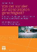 Cover-Bild zu Von der sozialen zur Generationengerechtigkeit? (eBook) von Klundt, Michael