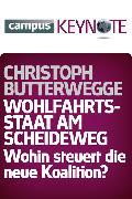 Cover-Bild zu Wohlfahrtsstaat am Scheideweg (eBook) von Butterwegge, Christoph