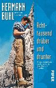 Cover-Bild zu Achttausend drüber und drunter (eBook) von Buhl, Hermann