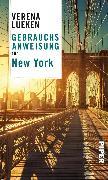 Cover-Bild zu Gebrauchsanweisung für New York (eBook) von Lueken, Verena